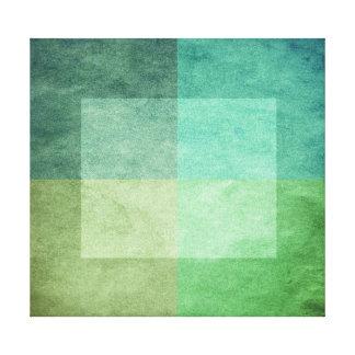 sucio acuarela-como el extracto gráfico 3 lienzo envuelto para galerías