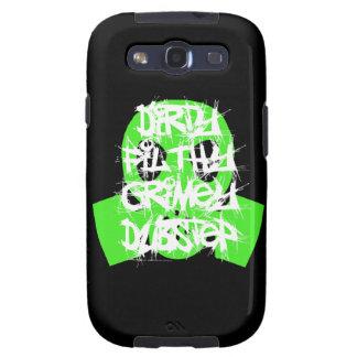 Sucio, asqueroso, Grimey Dubstep Galaxy S3 Cárcasa