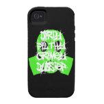 Sucio, asqueroso, Grimey Dubstep iPhone 4 Carcasa