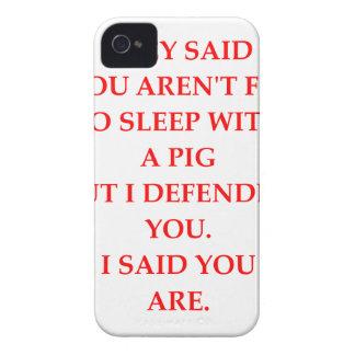 sucio iPhone 4 Case-Mate coberturas