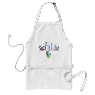 Suck Is Life Aprons