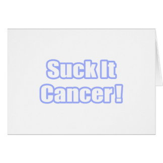 Suck It Cancer! Cards