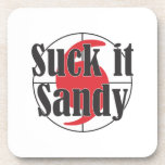 Suck it Sandy Hurricane Design Coaster