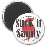 Suck it Sandy Hurricane Design Magnet