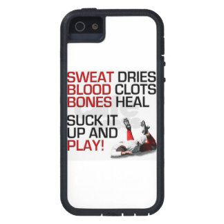 Suck it up and play soccer iPhone 5 case