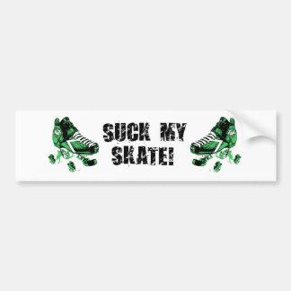 suck my skate bumper sticker