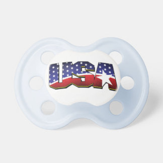 Suck the USA Pacifier