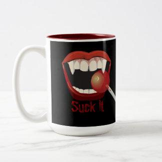 suck Two-Tone coffee mug