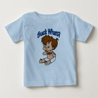 Suck What? Crawfish Baby Baby T-Shirt