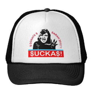 Suckas! Cap Mesh Hats