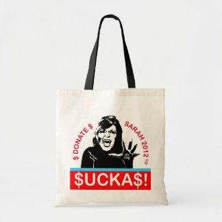 Suckas! Tote Bag