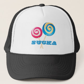sucker_blue trucker hat