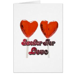 sucker for love card