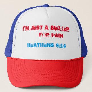 SUCKER FOR PAIN TRUCKER HAT