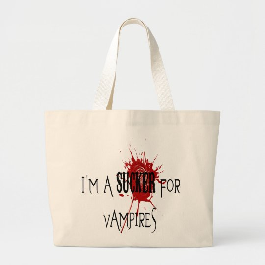Sucker For Vampires - Jumbo Tote