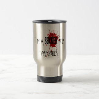 Sucker For Vampires - Travel/Commuter Mug
