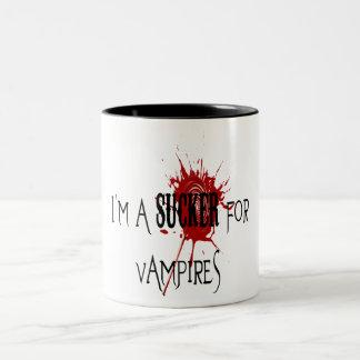 Sucker For Vampires - Two-Tone Mug