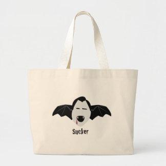 Sucker Large Tote Bag