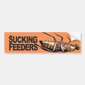 Sucking Feeders - Bumper Sticker