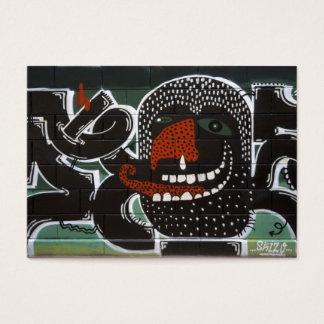 Sucks To Suffer From Persistent Rhinitis Graffiti Business Card