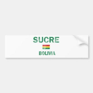 Sucre Bolivia Designs Car Bumper Sticker