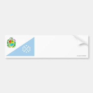 Sucre Flag Car Bumper Sticker