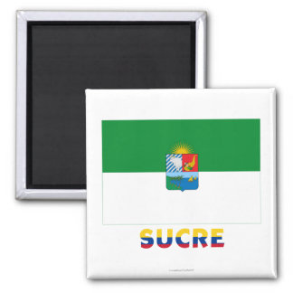 Sucre Flag with Name Magnet