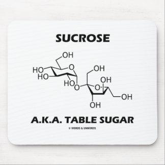 Sucrose A.K.A. Table Sugar (Chemical Molecule) Mouse Pad