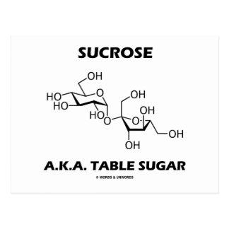 Sucrose A.K.A. Table Sugar (Chemical Molecule) Postcard