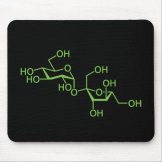 Sucrose Sugar Molecule Mouse Pad