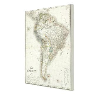Sud America - South America Canvas Print