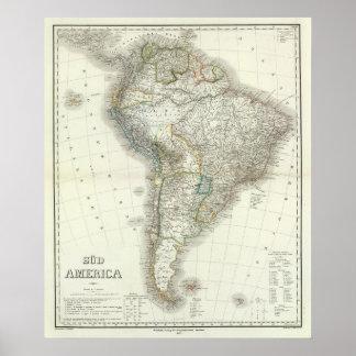 Sud America - South America Poster