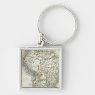 Sud América - Suramérica Llavero Personalizado