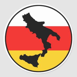 Sud Libero Classic Round Sticker