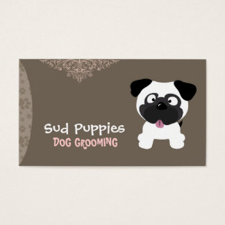 Sud Puppies - Dog Grooming Business Card