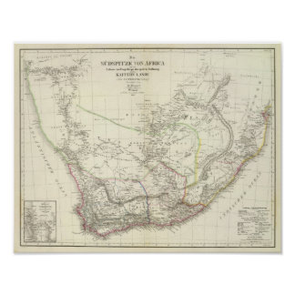 Sud v África - Suráfrica Póster