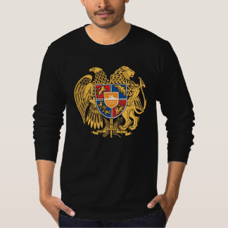 Sudadera con capucha armenia del escudo de armas