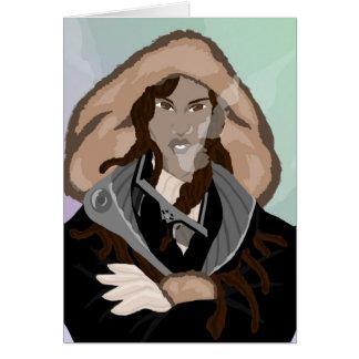 Sudadera con capucha ártica tarjeta pequeña
