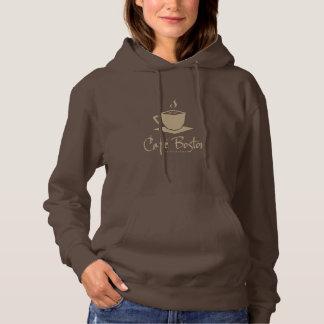 Sudadera con capucha básica de Café Boston de las
