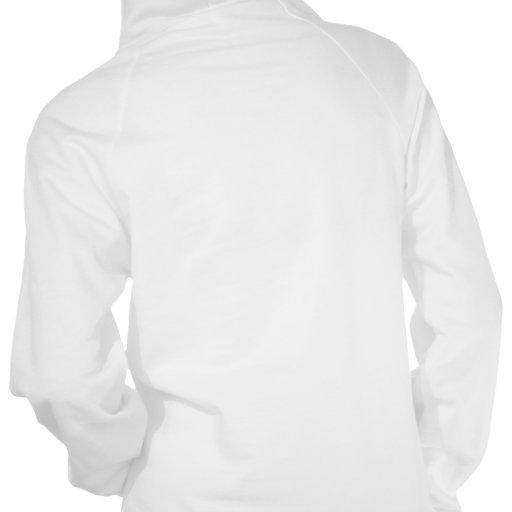 Sudadera con capucha blanca de Skull'ette del
