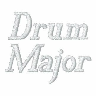 Sudadera con capucha bordada del tambor mayor de l