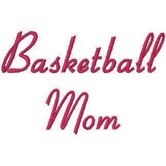 Sudadera con capucha bordada mamá del baloncesto