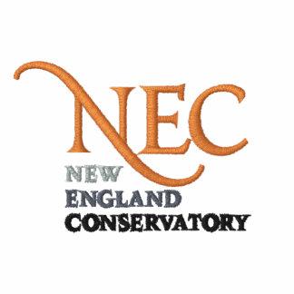 Sudadera con capucha bordada NEC de la cremallera
