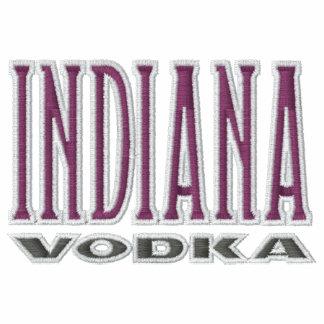 Sudadera con capucha bordada vodka de Indiana