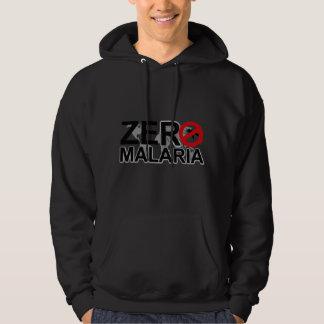 Sudadera con capucha cero de la malaria