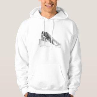 Sudadera con capucha de dos orcas