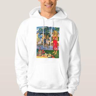 Sudadera con capucha de Gauguin Ia Orana Maria