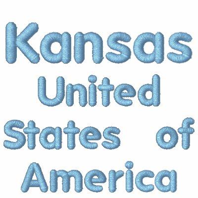 Sudadera con capucha de Kansas los Estados Unidos
