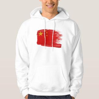 Sudadera con capucha de la bandera de China