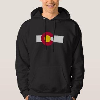 Sudadera con capucha de la bandera de Colorado
